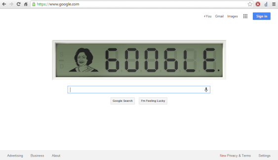 Google Homepage - 04 Nov 2013